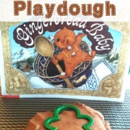 Gingerbread Playdough Recipe & Gingerbread Baby Activities for Kids