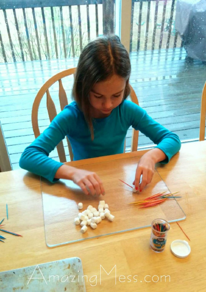 Making Marshmallow Stars