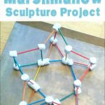Marshmallow Sculpture Project for Kids