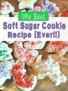 The Best Soft Sugar Cookie Recipe…Ever!!