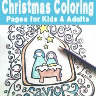 100+ FREE Christmas Coloring Pages for Kids (and Adults)