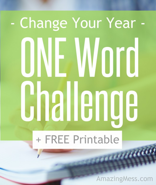 One Word That Can Change Your Year