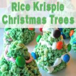 Cooking with Kids:  Rice Krispie Christmas Trees