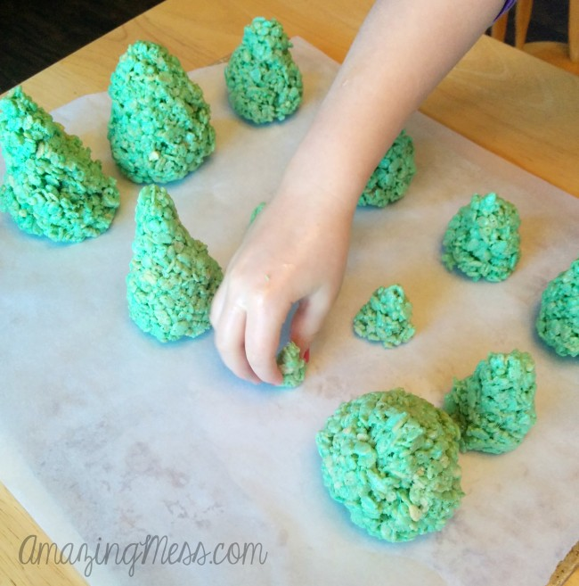 Rice Krispy Trees