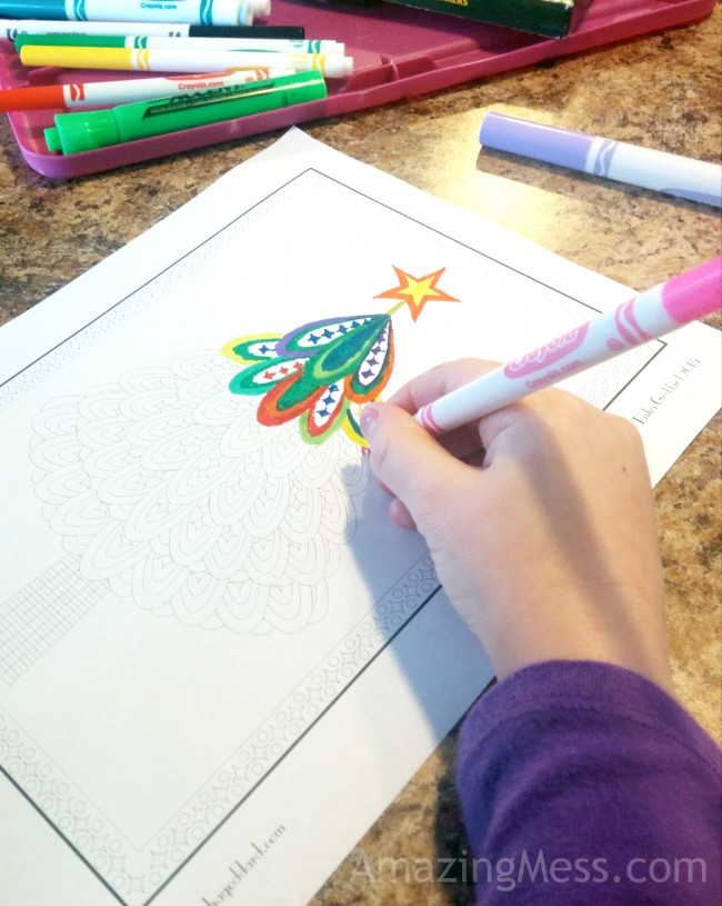 Tons of free Christmas Coloring Pages for kids and adults