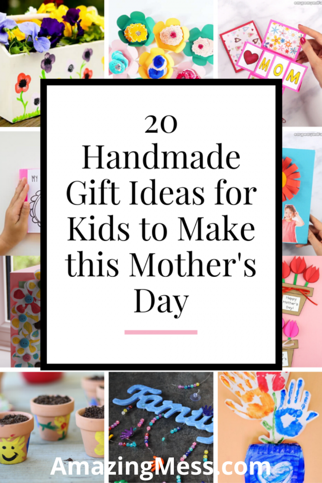 20 Handmade Gift Ideas For Kids To Make This Mother S Day